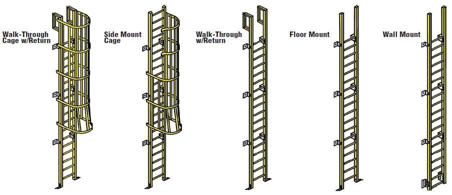 fiberglass ladder options