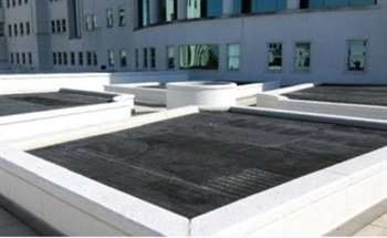 Improving Sustainability in Buildings Using Molded Gratings