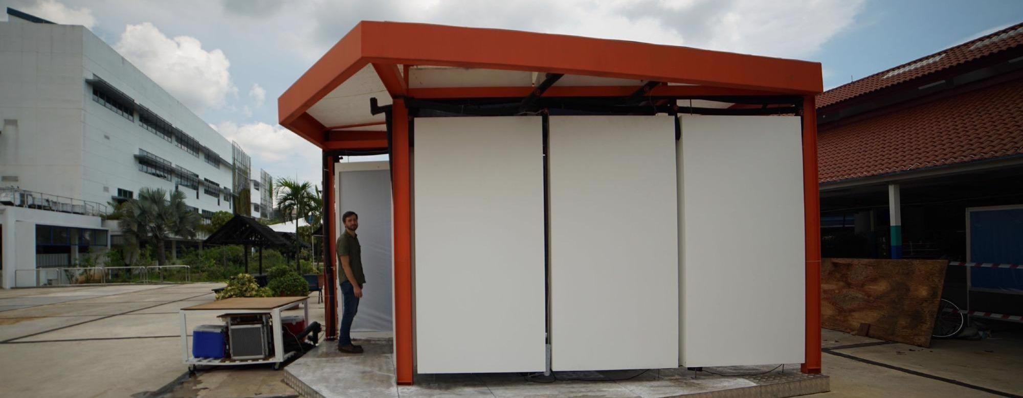 制冷板可替代空调,防止室内疾病传播