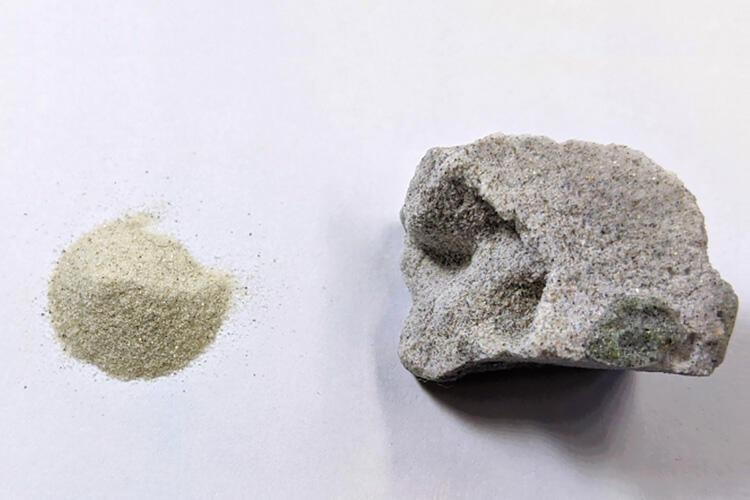 New Method for Using Sand to Produce Concrete Without Cement