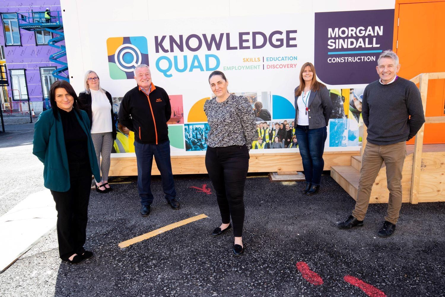 Morgan Sindall Construction Brings Skills Boost to Salford with Knowledge Quad