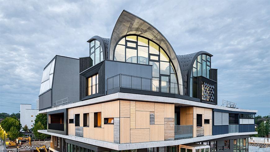 Study Combines Medieval Building Principles with Futuristic Construction Techniques.
