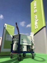 Zoomlion Unveils its Latest Mortar Mixer Duo-Mix Specialized for 3D Construction Printing