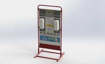 Biosite推出支持灯塔俱乐部的便携式场所卫生解决方案