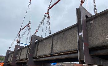 Lifting Gear UK Develops New C-Hook Bridge Removal Solution for Murphy