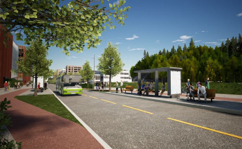Peab Builds New Main Street in Lørenskog