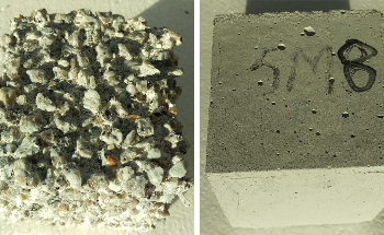 Zero-Cement Concrete Withstands Corrosion Acidic Environment