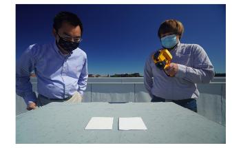 用于商业涂料的新型辐射冷却技术,使表面保持冷却器