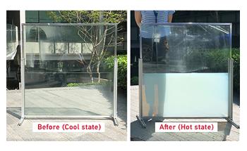 """""""液体窗""""显着降低了建筑物中的能量消耗"""
