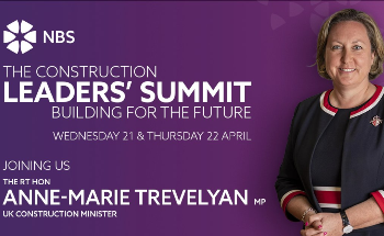 Anne-Marie Trevelyan, UK Construction Minister Announced as Keynote Speaker at the Construction Leaders' Summit 'Building for the Future'