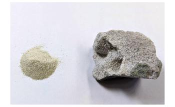 使用沙子生产混凝土的新方法