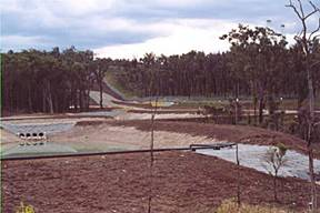 E Rosion Control System at Newstan Mine -Scour Protection Mats & Drainage Channels
