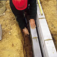 AzoBuild-Building Technology-Celcon Cavity Foundations